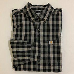 Carhartt Relaxed Fit Button Front Men's Shirt